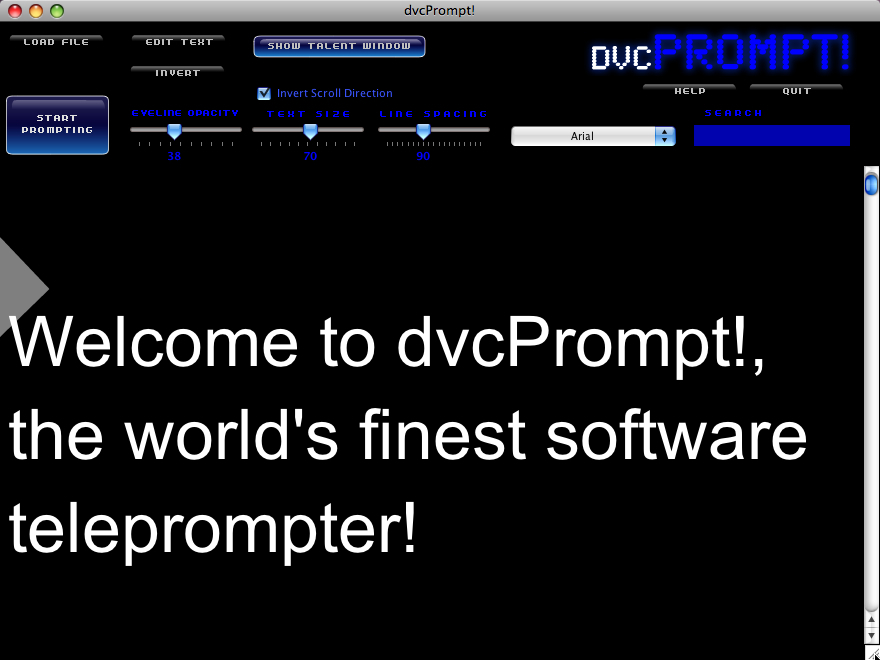 Screenshot 1 for dvcPrompt!