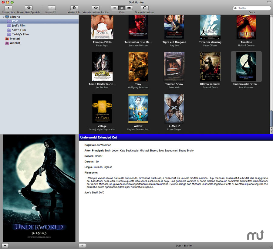 Screenshot 1 for DVD Hunter