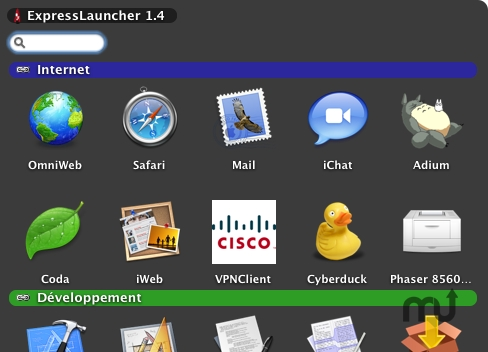 Screenshot 1 for ExpressLauncher