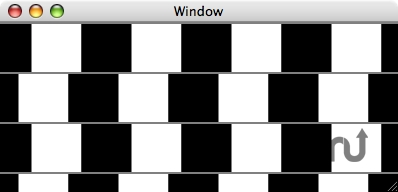 Screenshot 1 for Cafe Wall Illusion