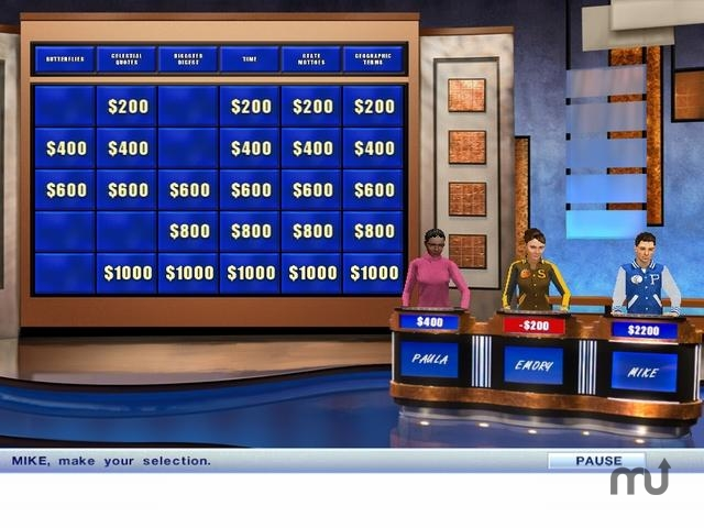 Screenshot 1 for Jeopardy! Deluxe
