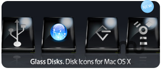 Screenshot 1 for Glass Disk Icons