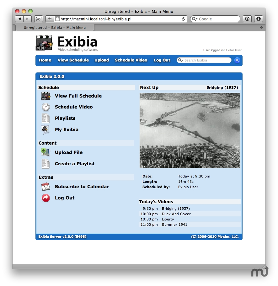 Screenshot 1 for Exibia