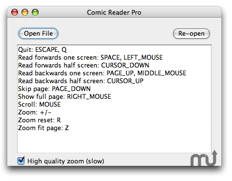 Screenshot 1 for Comic Reader Pro