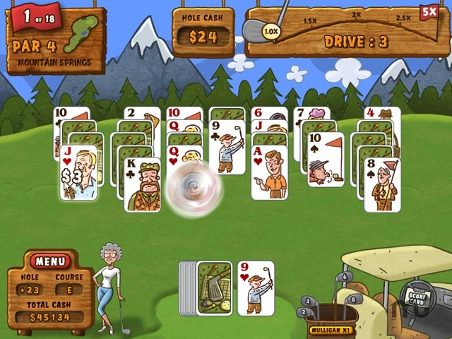 Screenshot 1 for Fairway Solitaire