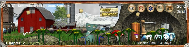 Screenshot 1 for SilkWood Spring