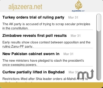 Screenshot 1 for Al Jazeera News