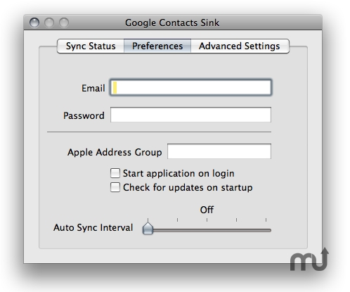 Screenshot 1 for Google Contact Sink