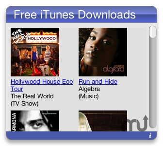 Screenshot 1 for Free iTunes Downloads