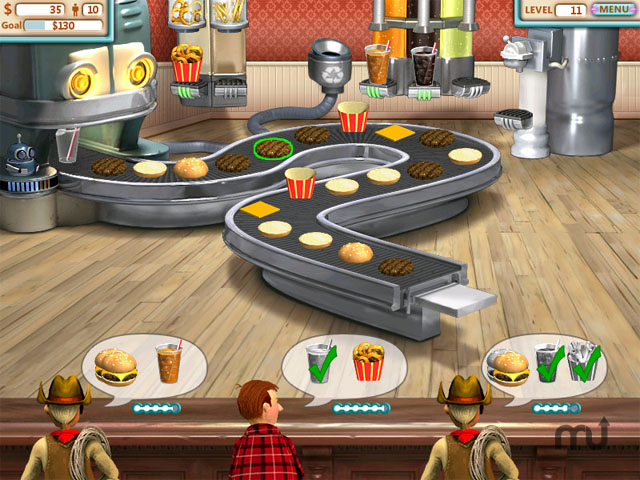 Screenshot 1 for Burger Shop