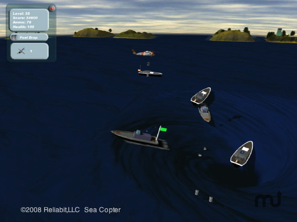 Screenshot 1 for Sea Copter