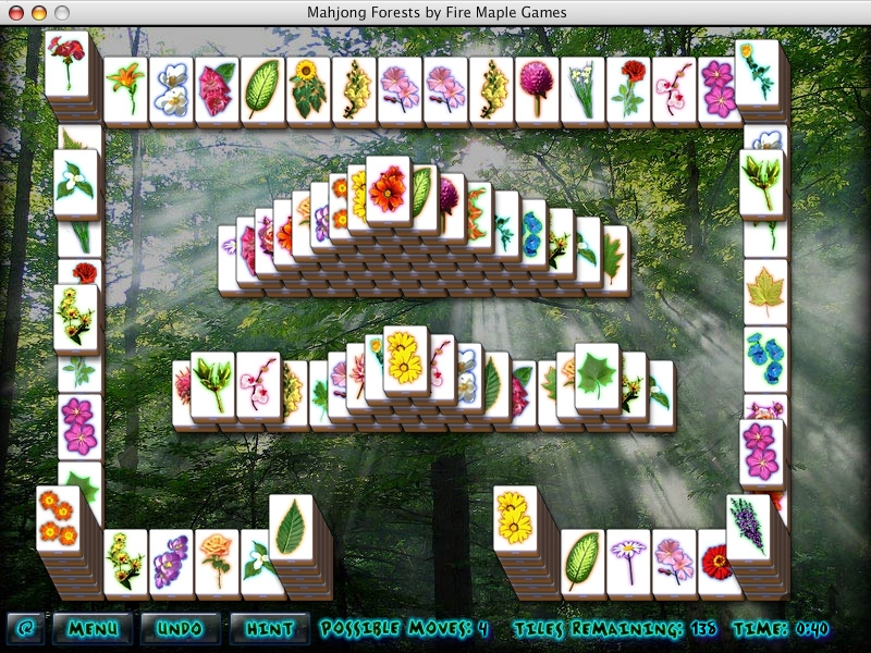 Screenshot 1 for Mahjong Forests