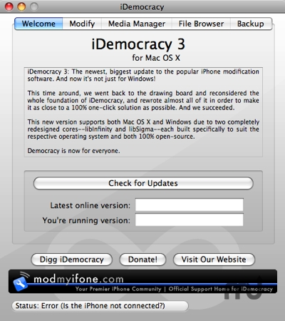 Screenshot 1 for iDemocracy