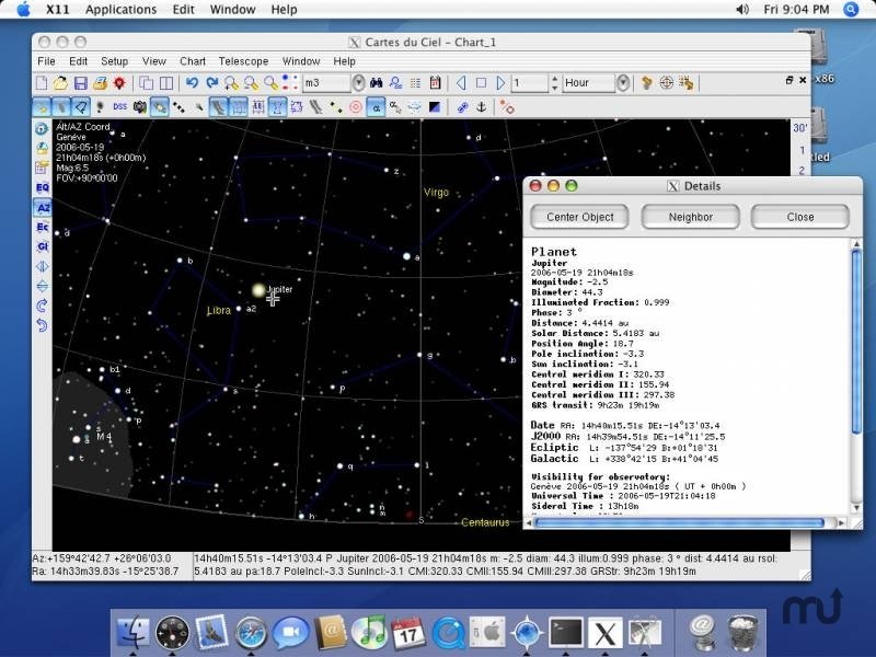 Screenshot 1 for Sky Chart