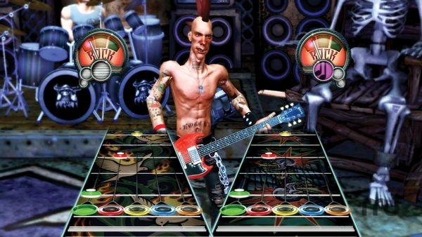 Screenshot 1 for Guitar Hero III: Legends of Rock