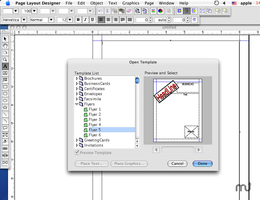 Screenshot 1 for Page Layout Designer