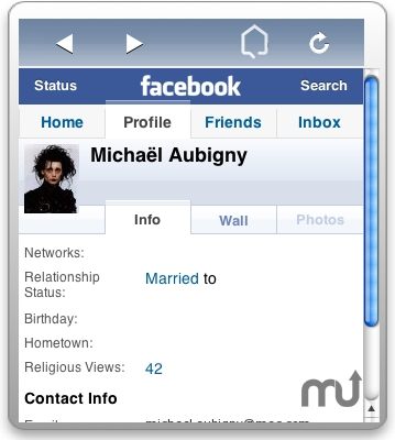Screenshot 1 for FacebookWidget