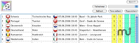 Screenshot 1 for SoccerTip2008