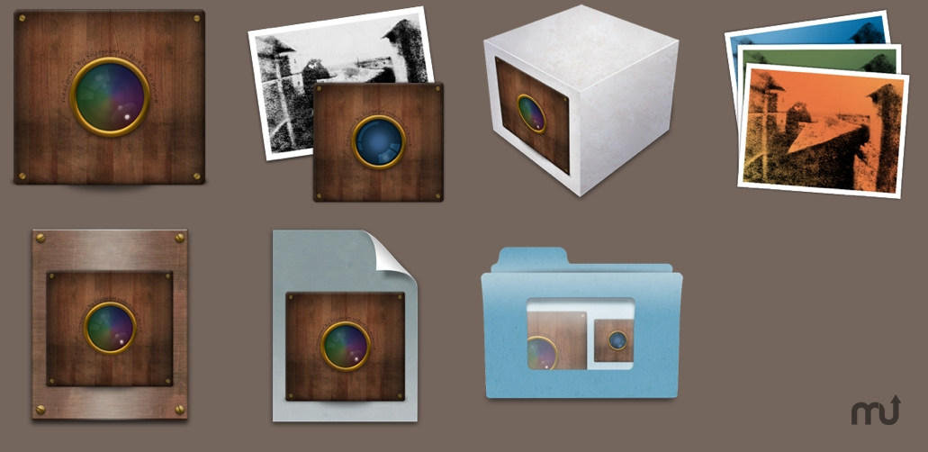 Screenshot 1 for Camera Obscura Icons for iPhoto and Aperture