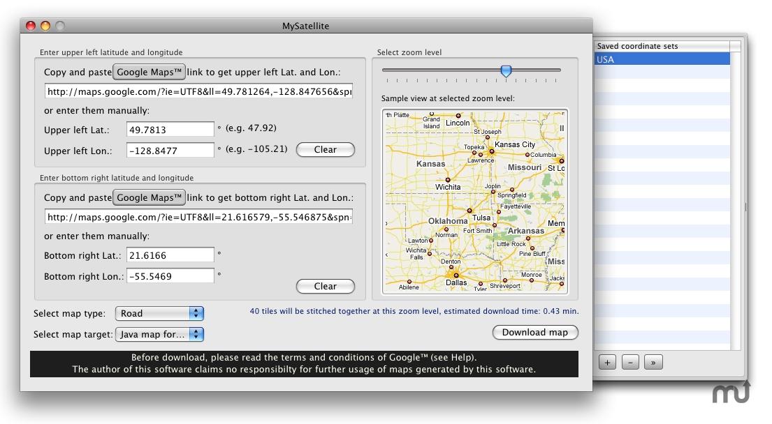 MySatellite for Mac | MacUpdate