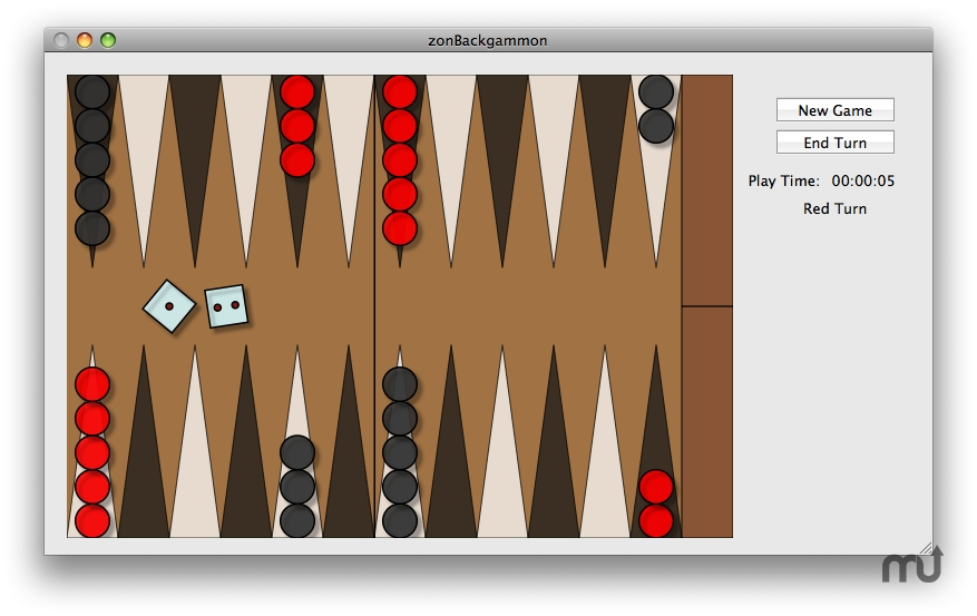 Screenshot 1 for zonBackgammon