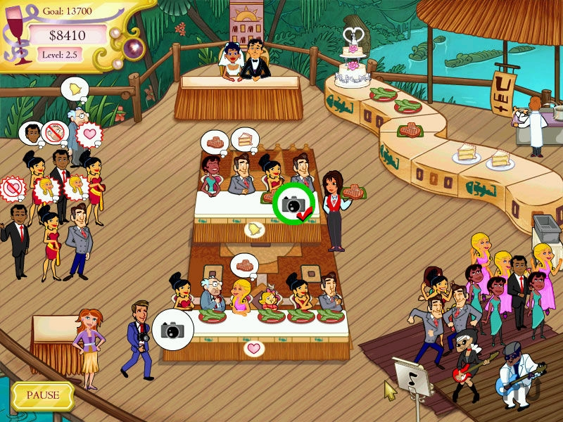 Screenshot 1 for Wedding Dash 2