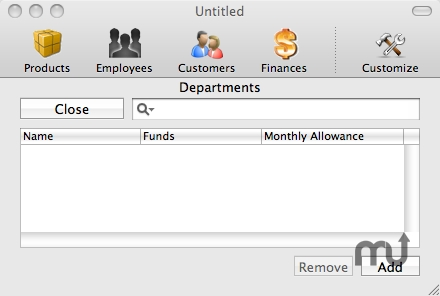Screenshot 1 for EZ Business Manager