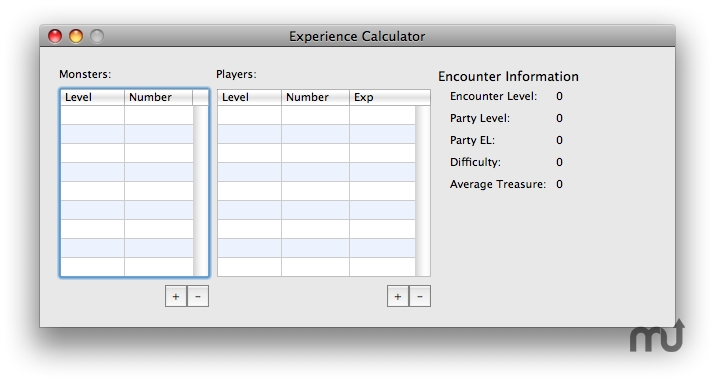 Screenshot 1 for kExpcalc