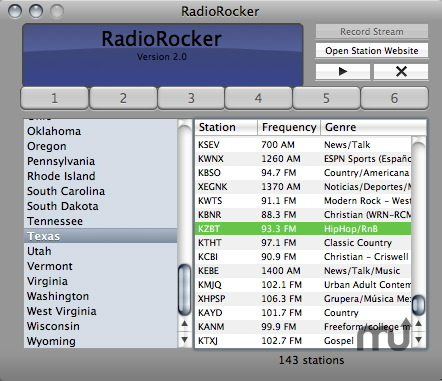 Screenshot 1 for RadioRocker