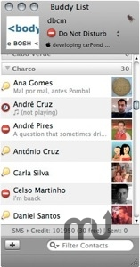 Screenshot 1 for SAPO Messenger