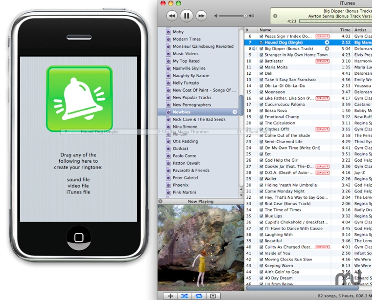 Screenshot 1 for PocketMac RingtoneStudio