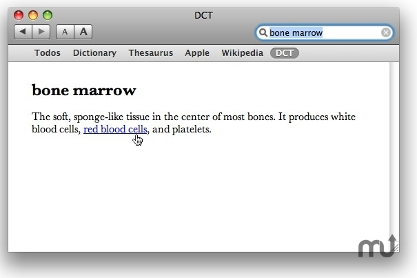 Screenshot 1 for Dictionary of Cancer Terms