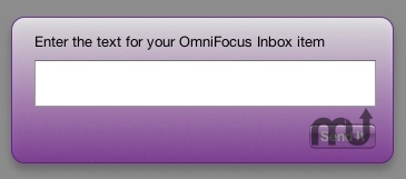 Screenshot 1 for Send To OmniFocus