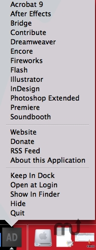 Screenshot 1 for Adobe Dock