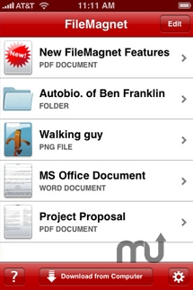 Screenshot 1 for FileMagnet