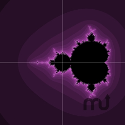 Screenshot 1 for Mandelbrot Quartz Composer Plugin