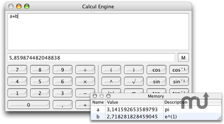 Screenshot 1 for Calcul Engine