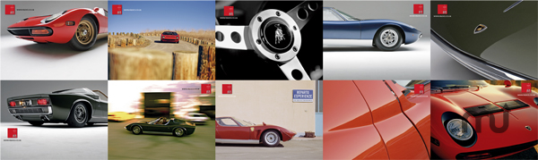 Screenshot 1 for Lamborghini Miura Desktop Wallpaper