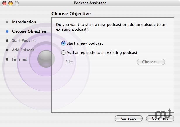 Screenshot 1 for Podcast Assistant