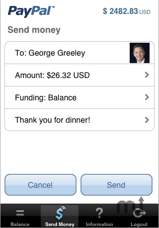 Screenshot 1 for PayPal
