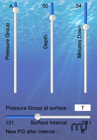 Screenshot 1 for Dive Planner