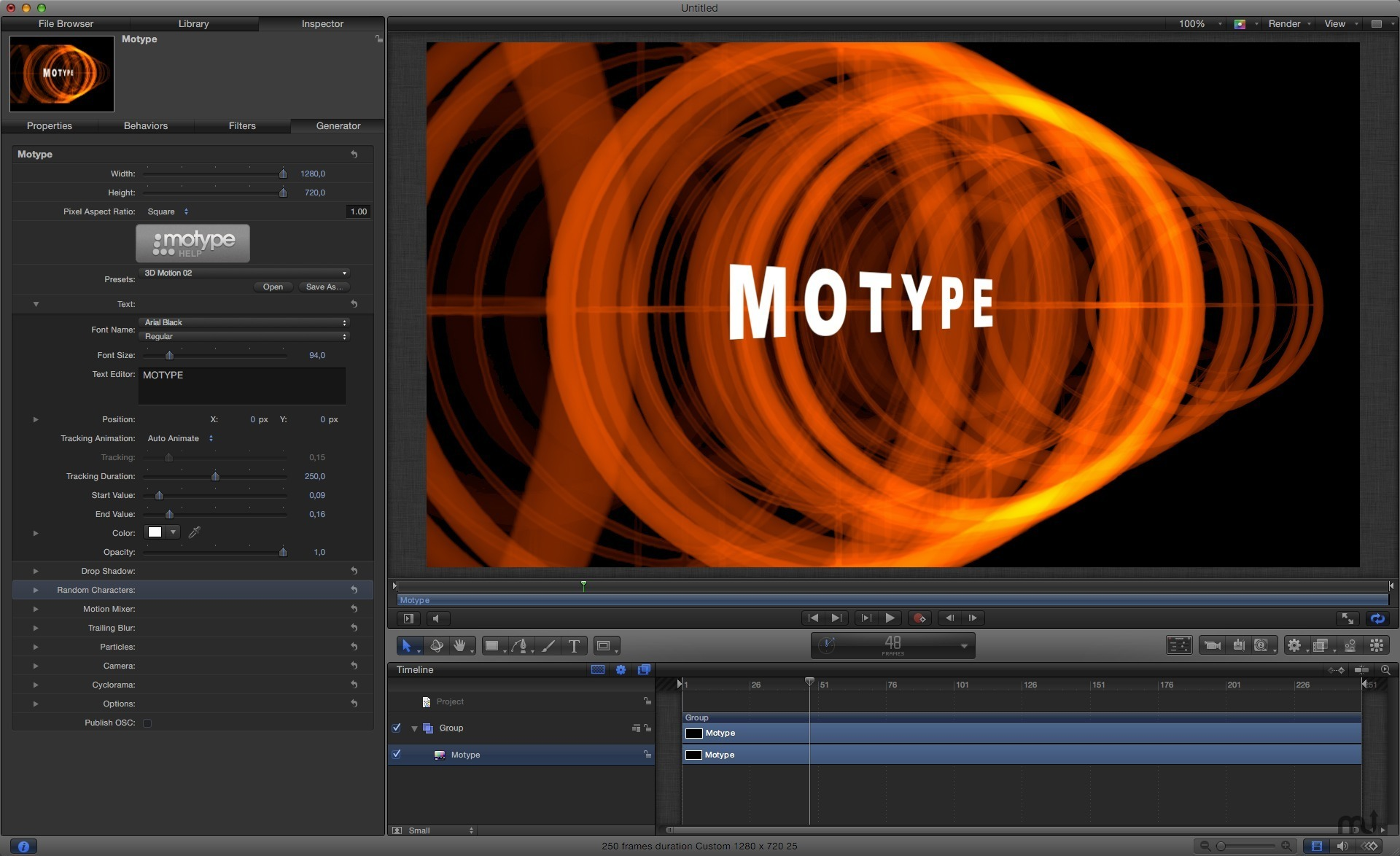 Screenshot 1 for Motype