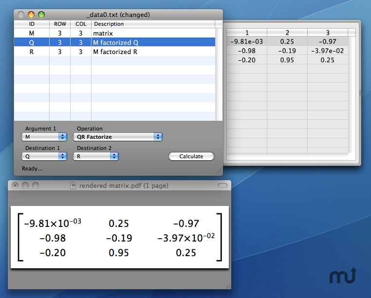 Screenshot 1 for Matrix Calculator