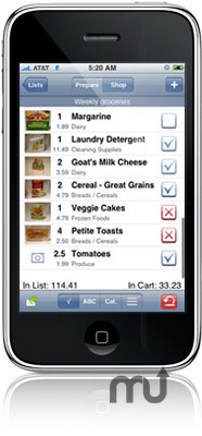 Screenshot 1 for Grocery Gadget