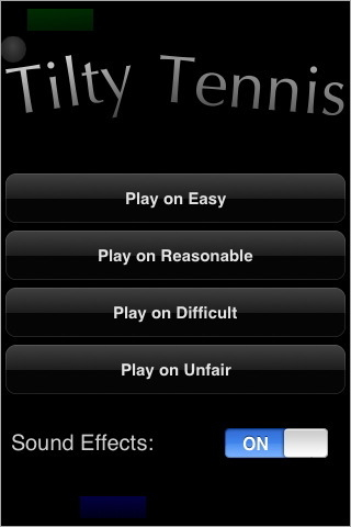 Screenshot 1 for Tilty Tennis