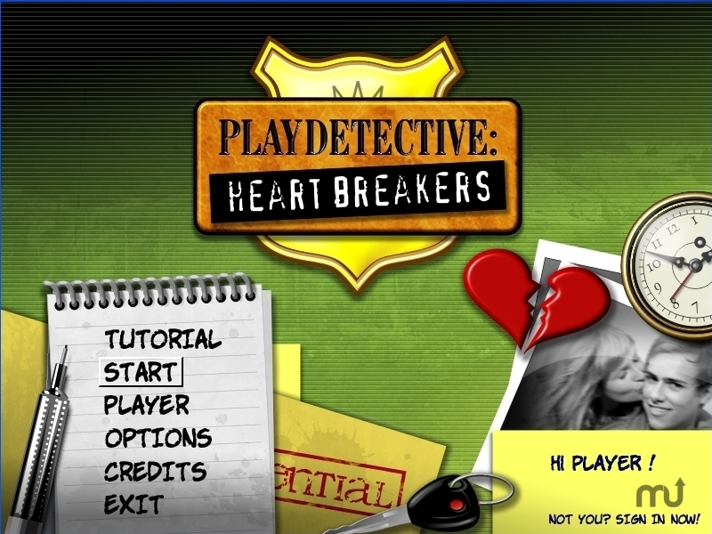 Screenshot 1 for PlayDetective: Heartbreakers