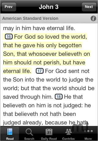 Screenshot 1 for Bible