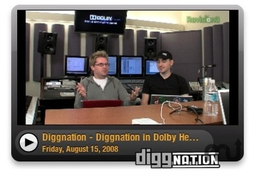 Screenshot 1 for Diggnation Video Widget