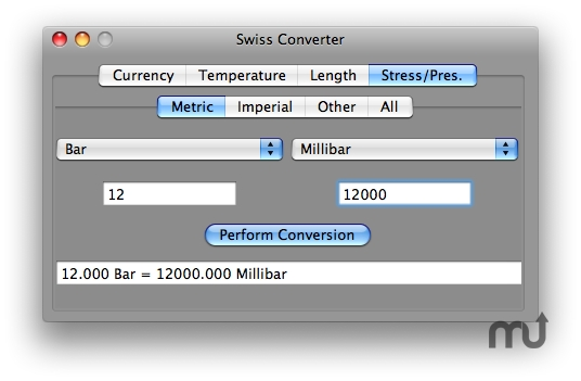Screenshot 1 for Swiss Converter