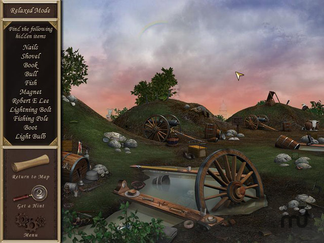 Screenshot 1 for Hidden Mysteries: Civil War